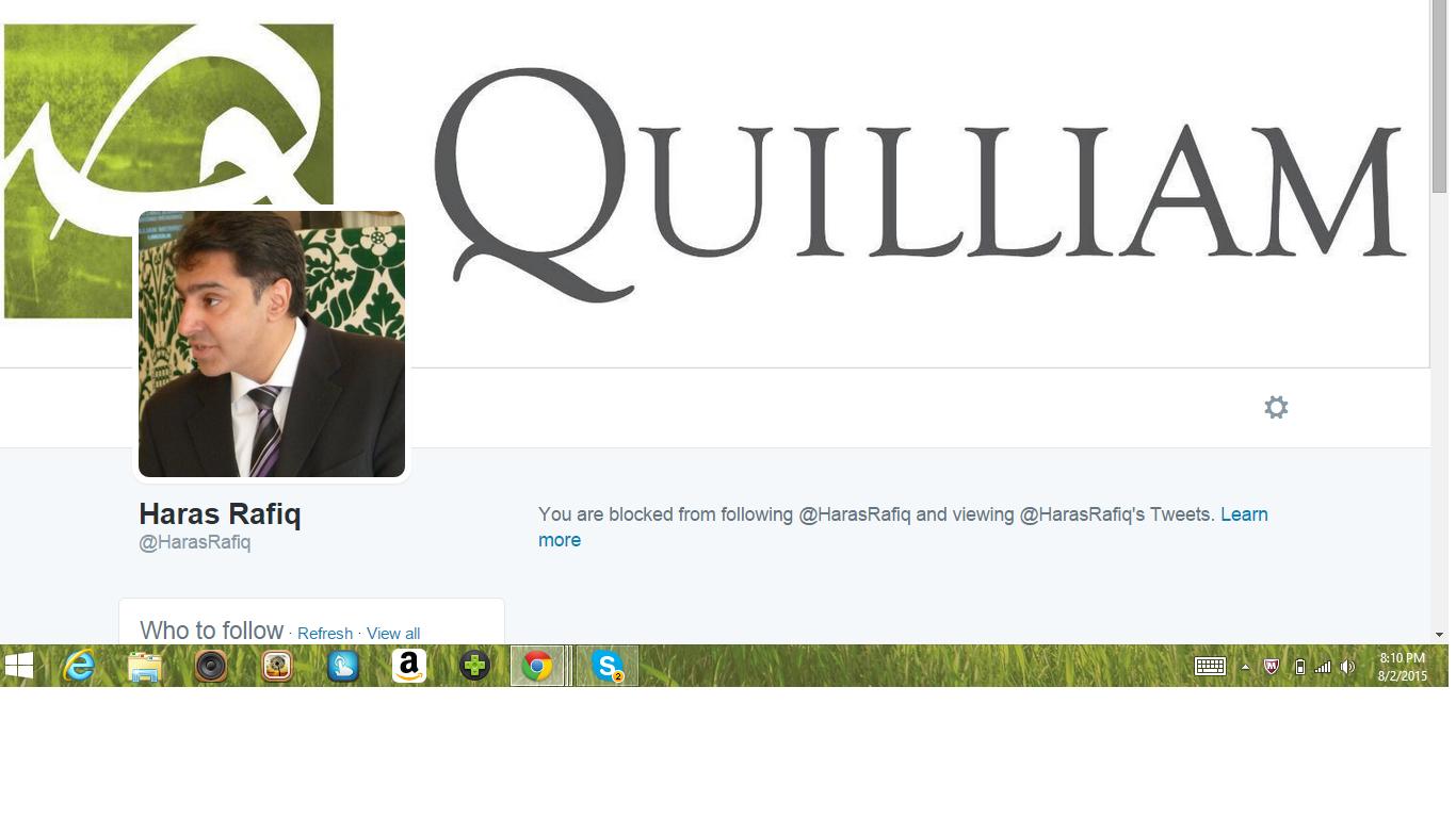 Blocked by 5 Haras Rafiq Quilliam
