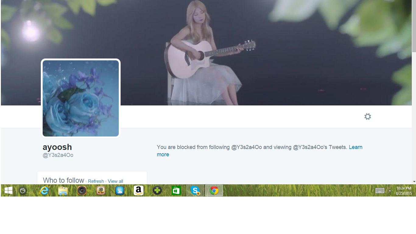 Blocked by 5 ayoosh