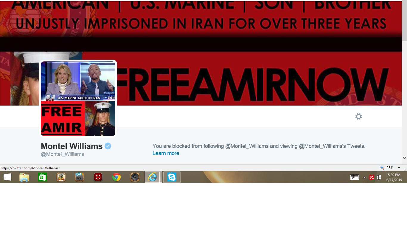 Blocked by 4 Montel Williams