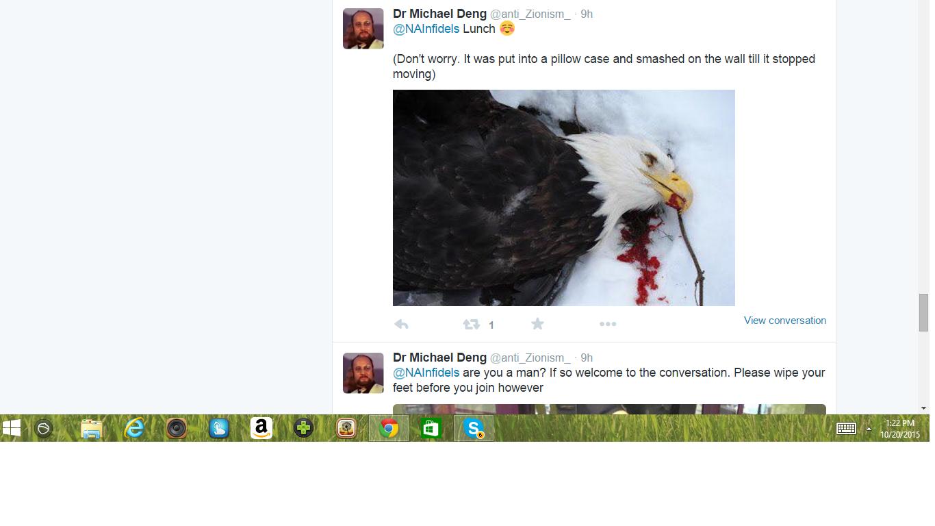 Threat 8 Dr Bird