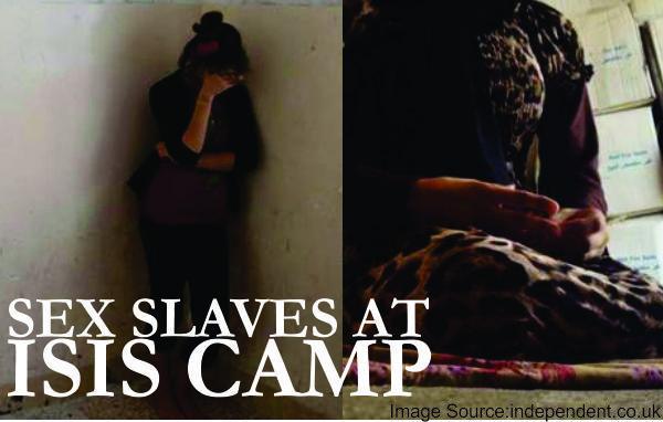 Sex slaves at ISIS camp