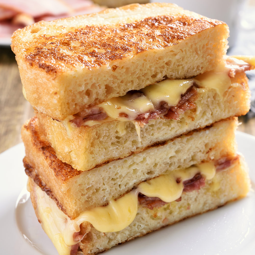 Homemade Grilled Cheese