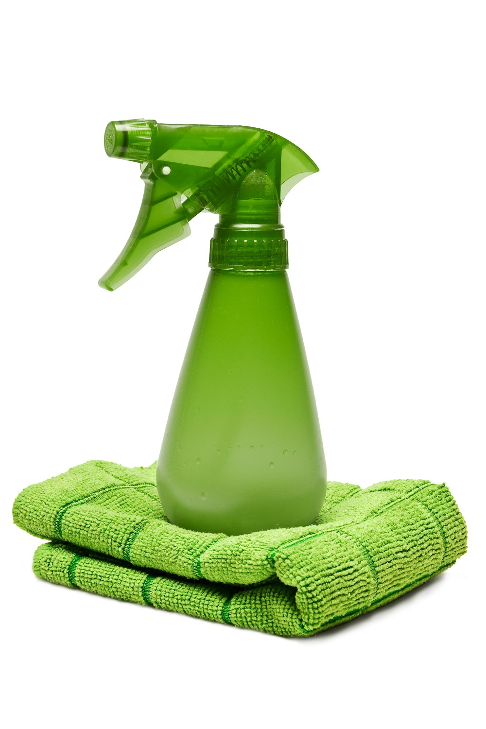 To make your own window cleaner, add 1/2 to 1 cup of vinegar to 1 gallon of water
