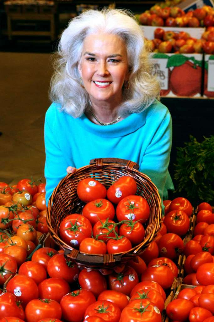 Heloise has been a vegetarian since the 1970s. For a story on her vegetarian lifestyle–what she eats at home and at restaurants, etc, photographed at Central Market on Tuesday, Feb. 7, 2012. Helen L. Montoya/San Antonio Express-News.