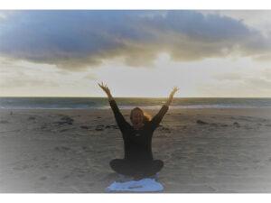 Deborah Wendt on the Beach