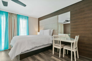 Deco Boutique Hotel- room with single bed