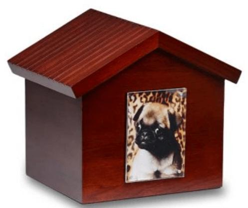 Birch Wood Photo Frame Dog House