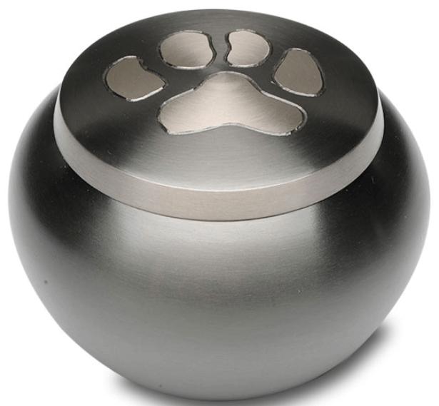 Single Paw Print Pet Cremation