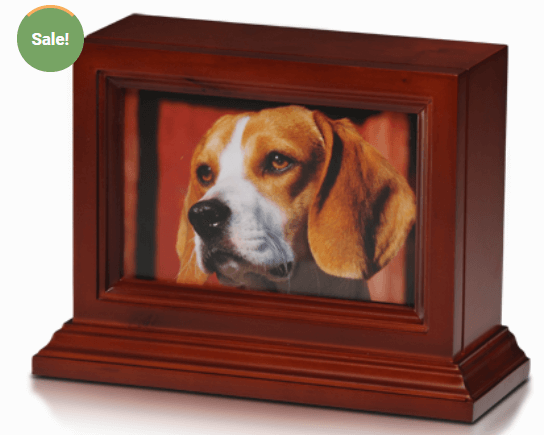 Wooden Photo Frame Base in Cherry