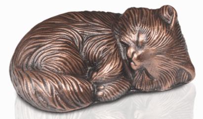 Sleeping Kitty Urn