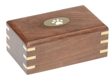 Simple Rosewood Urn
