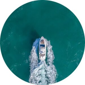 scattering ashes by boat