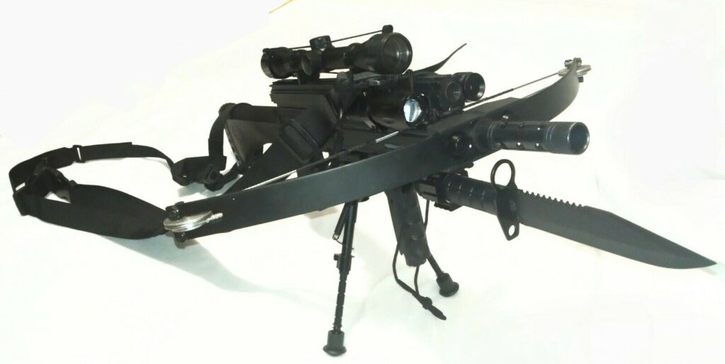 WT4 TACTICAL CROSSBOW LOADED