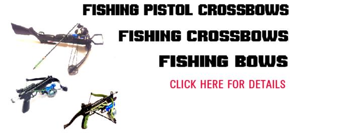 Fishing crossbows