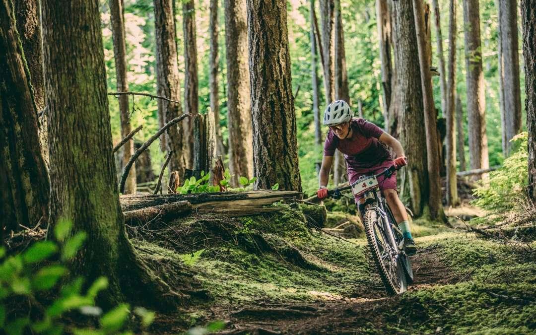 Hannah Barnes Tackles the BC Bike Race