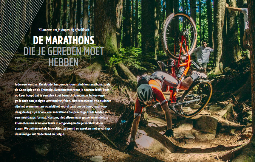 The Marathons That You Have to Ride