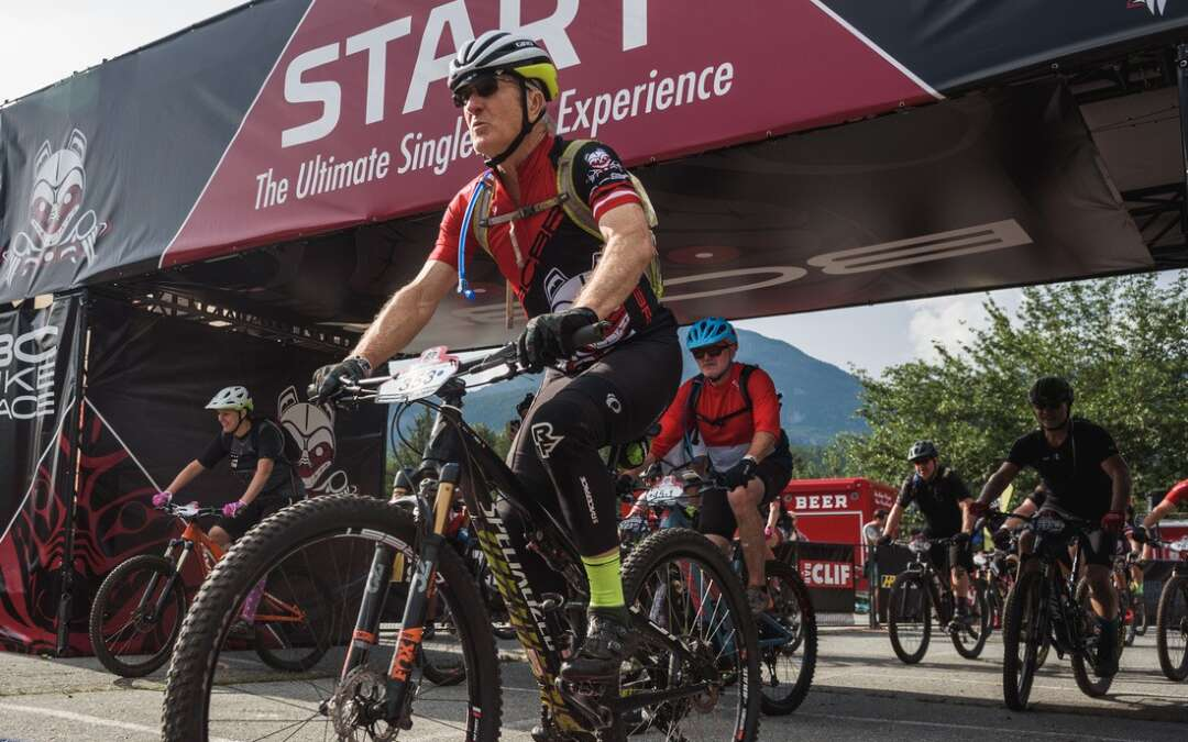 THE BC BIKE RACE IS ON