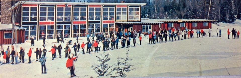 Mont Glen, QC from the 1960s   Photo Courtesy of Paul Giddings