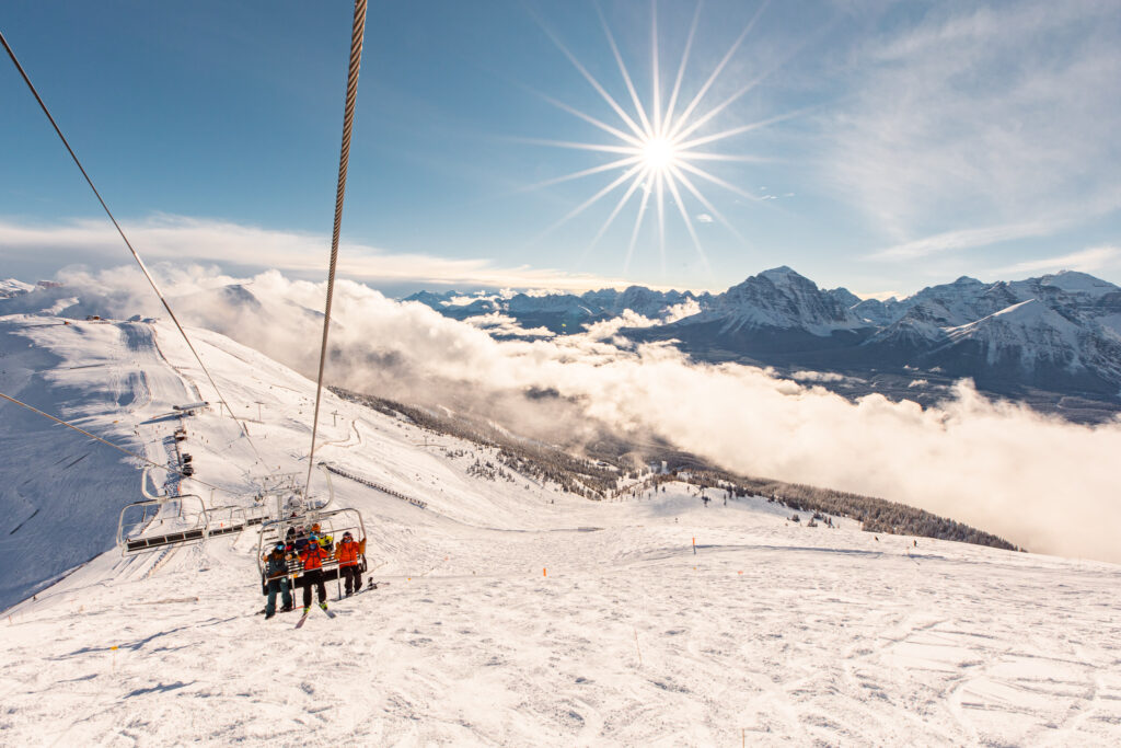 Summit Chair at Lake Louise | Photo Credit Philip Forsey, Courtesy of Lake Louise Ski Resort