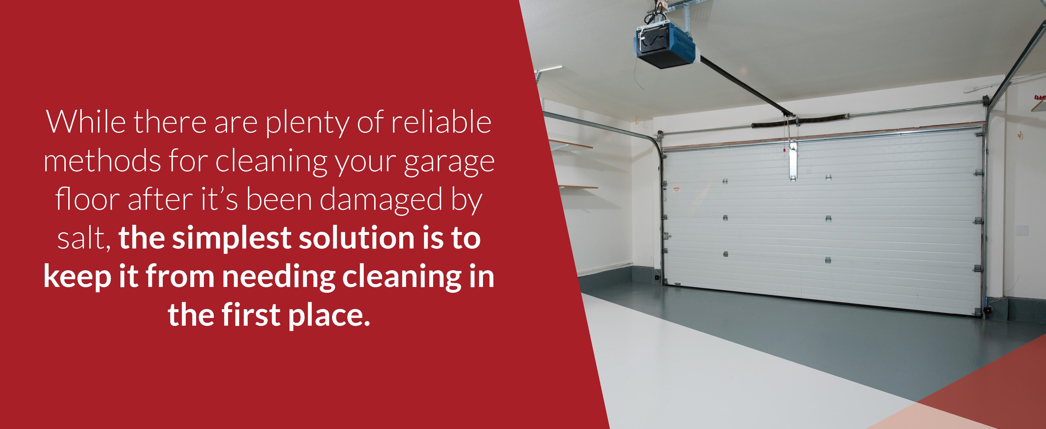 cleaning-garage-door-floor