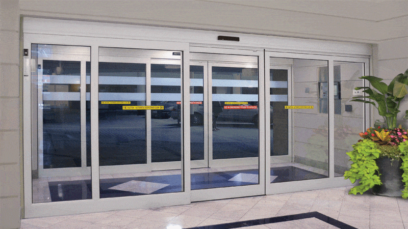 Commercial sliding doors in Colorado Springs