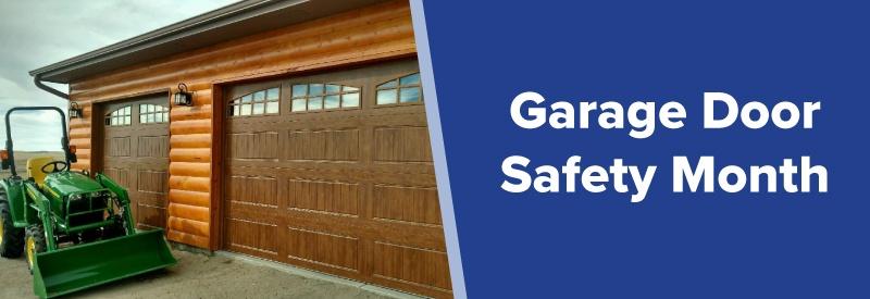 garage door safety month