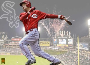 Although Frazier was an All-Star third baseman last season, his numbers took a hit by October, thus ending his tenure as a Cincinnati Red.