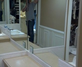 Mirror and Specialty Glass Installations