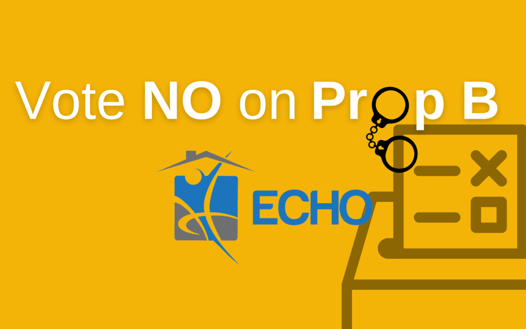 Vote NO on Prob B