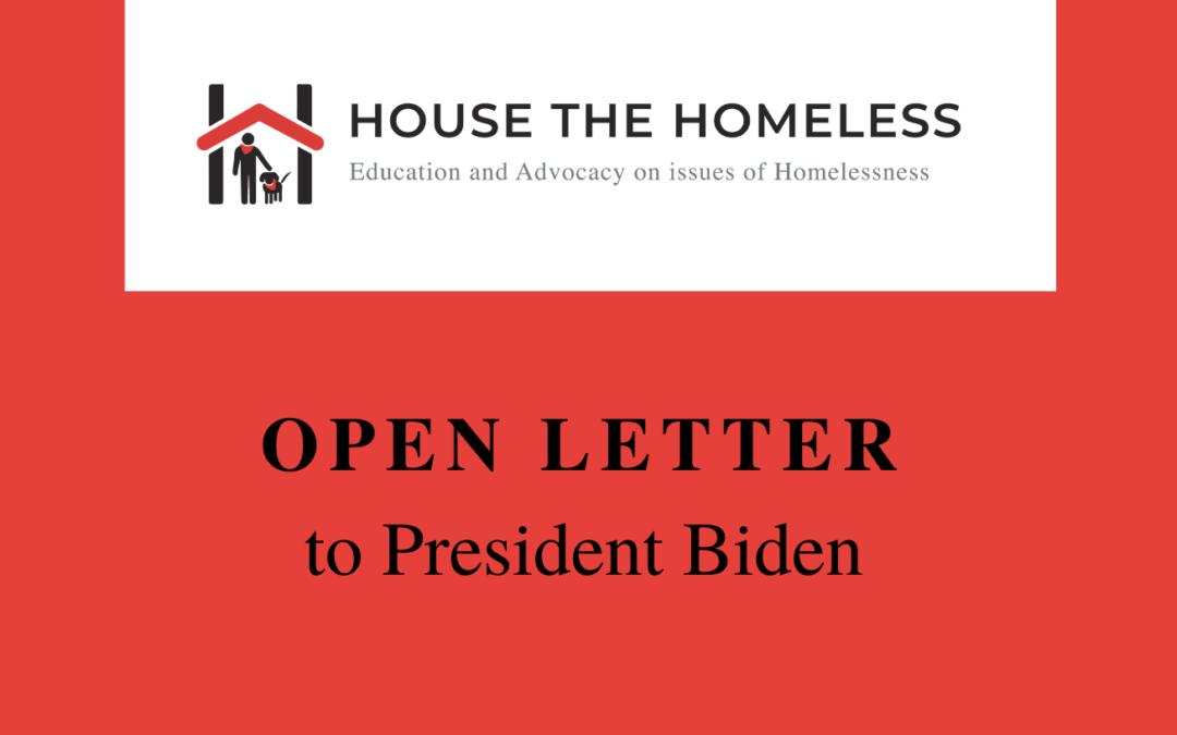 Open Letter to President Biden 6-18-21