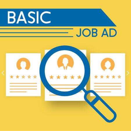 Basic Job Ad