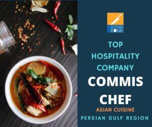 Commis Chef - Asian Cuisine