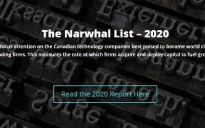 Ranovus Included on The 2020 Narwhal List
