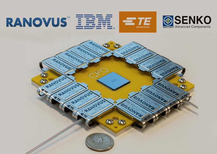 Ranovus launches its single chip ODIN™ silicon photonic engine to support ML/AI workloads for Data Center and 5G mobility.
