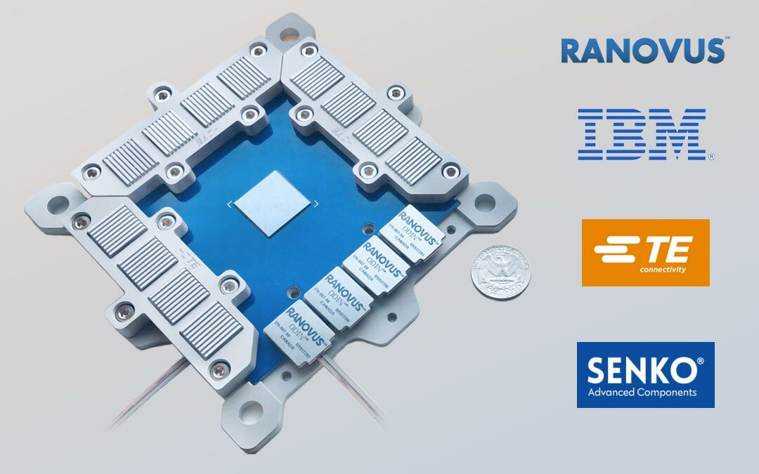 """Ranovus Announces Second-Generation """"Co-Packaged Optics"""" Chip for  Hyperscale Data Center Applications"""