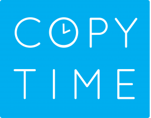 Copy TIme logo design branding victor marketing