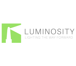 luminosity logo design branding victor marketing