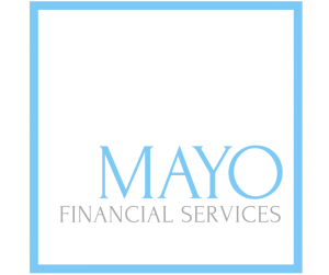 Mayo Financial logo design branding victor marketing