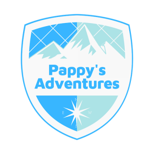 Pappy's Adventures logo design branding victor marketing