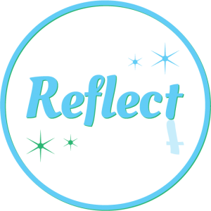 Reflect logo design branding victor marketing