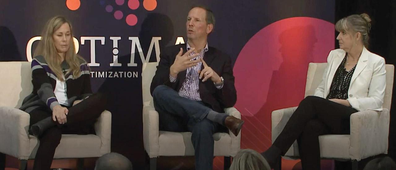 Chuck Mollor presenting at the Optima Talent Optimization Conference