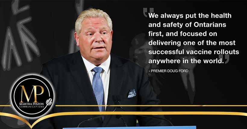 Gobierno lanza plan para reabrir de manera segura provincia de Ontario y manejar el COVID-19 a largo plazo
