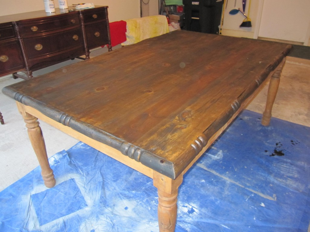 Table - Stain Coating #1