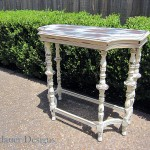 Finished Entry Way Table