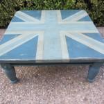 Blue Union Jack Coffee Table