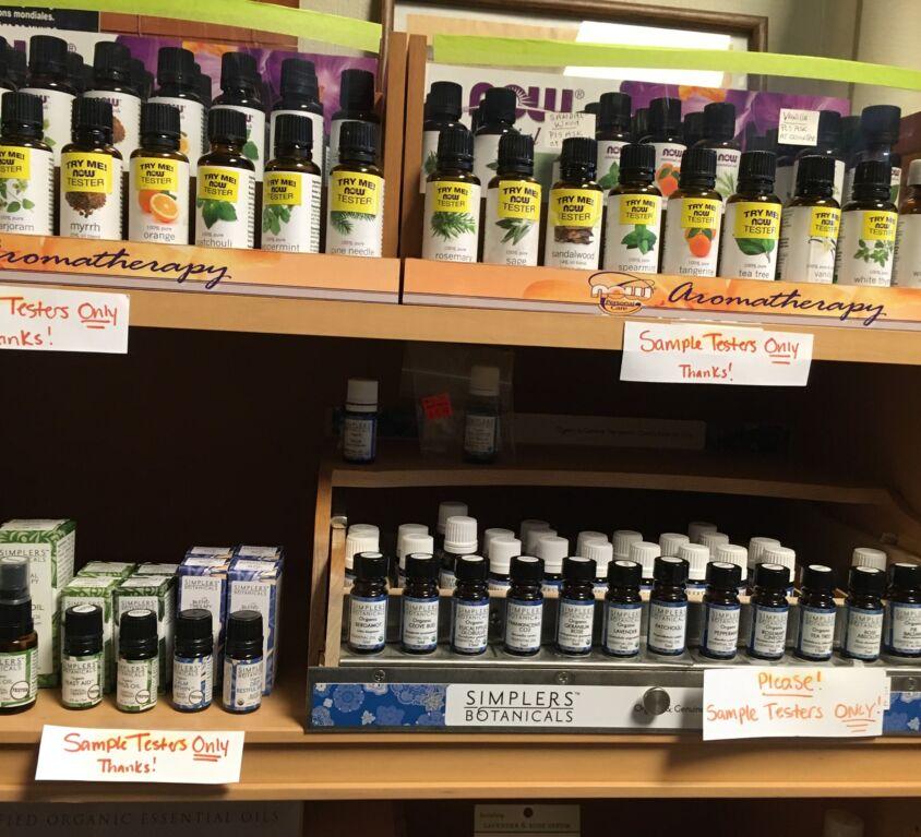 Essential Oils @ Evergreen Natural Foods Market