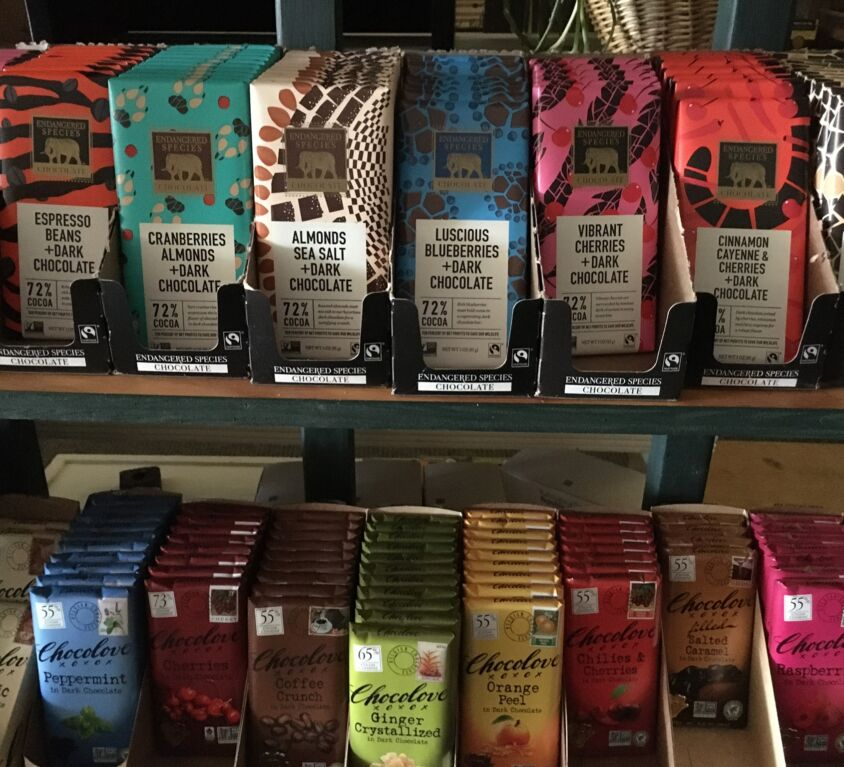 Chocolate Bars @ The Evergreen