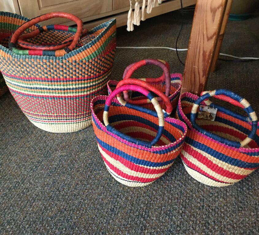 Baskets @ Evergreen Natural Foods Market