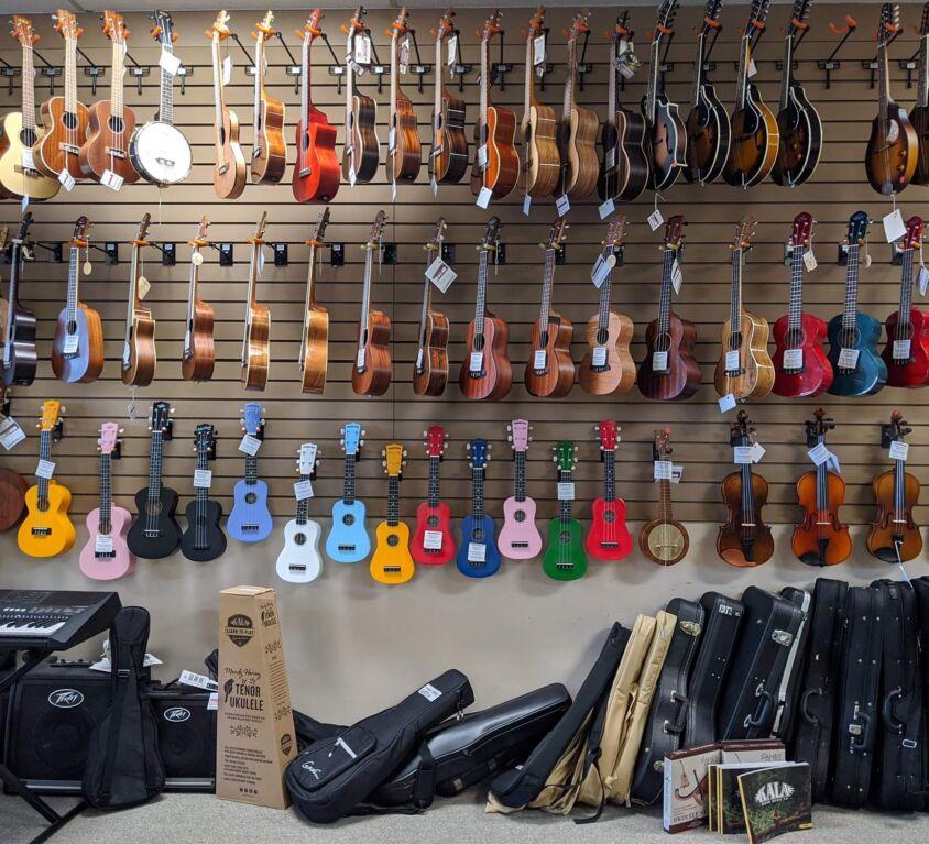 Instruments & Cases @ Instrumental Music & Sound