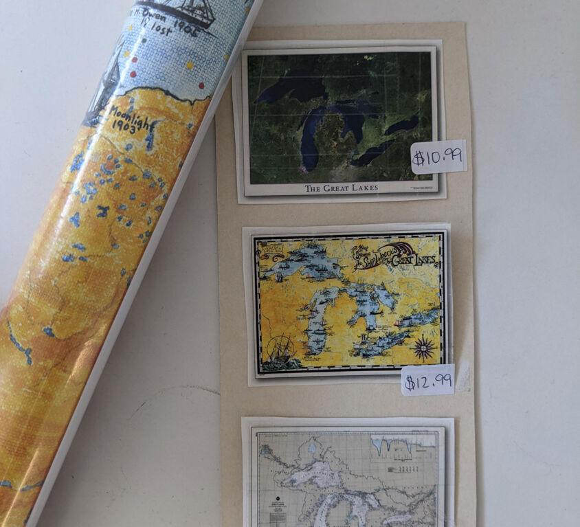 Michigan Maps @ Book Mark